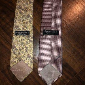 Christian Dior Tie bundle